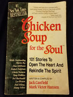 Chicken Soup for the Soul Paperback 1993 101 Stories Jack Canfield/Mark Hansen