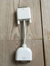 Genuine Apple 603-8525 DVI to VGA monitor adapter cable converter adaptor