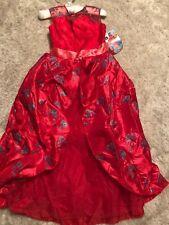 NEW DISNEY girls HALLOWEEN COSTUME ELENA OF AVALOR gown STUNNING DRESS size 7/8
