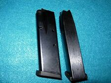 2--STAR FIRESTAR PLUS 10 Rd. 9 M/M MAGAZINES,  BLUE, NEW!  TWO MAGS!!