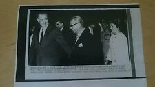 8 Jan 1970 Malaya Tunku Abdul Rahman at Subang Airport USA Original Press Photo