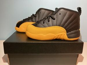 New Jordan 12 Gold Boys' Toddler Size 9C