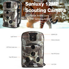 Caméra Surveillance Vidéo Observation Nature Animal Chasse 12MP 8Go SD IR Nuit