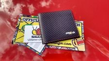 CARBON FIBRE & LEATHER WALLET CAR DRIFT FAST GIFT TRACK JDM FT86 SKYLINE SILVIA