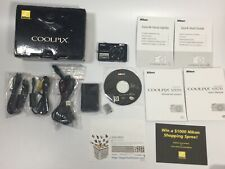 Nikon COOLPIX S570 digital camera 5x zoom with original package items