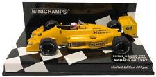 Minichamps Lotus Honda 99T #11 Monaco GP 1987 - Satoru Nakajima 1/43 Scale