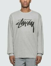 STUSSY Men's L/S Shirt STOCK - GHR - Small - NWT