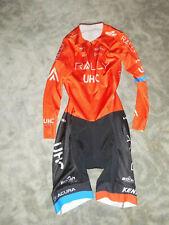 Broah Team UHC Rally Cycling Road Body  Aero Sprint Suit Einteiler / Skinsuit