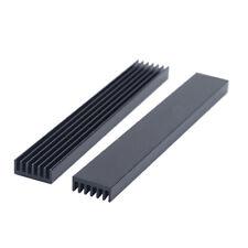 5pcs 100146mm Black Anodized Aluminium Heat Sink Power Transistor To 126