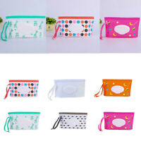 Baby Wet Wipes Pouch Bag Clamshell Tissue Napkin Box Case Cosmetic Accessories