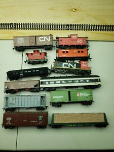 Canadian Nation train engine Model Railroads Trains HO Scale Rolling Stock Cars!