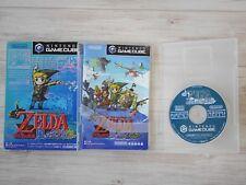 Used Nintendo GameCube Legend of Zelda Wind Waker Kaze no Tact Japan Import F/S