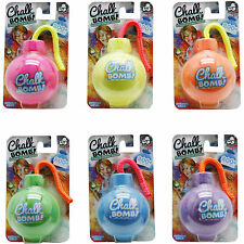 Chalk Bomb-6 Colours-smoke Paint Powder Party Event Outdoor Lanyard 200 Throws
