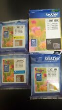 """NEW Brother LC3011 Standard Ink Cartridges """"12"""""""