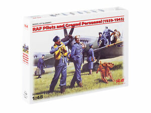 RAF Pilots and Ground Personnel 1939-1945 - 1/48 scale ICM 48081