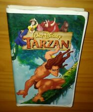 TARZAN, 1999 DISNEY VHS (PLAY TESTED) CLAMSHELL CASE,