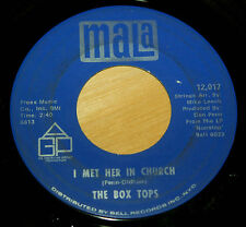 Box Tops 45 I Met Her In Church / People Gonna Talk