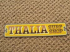 thalia street surf shop ca surfboard surfing sticker decal longboard surfer