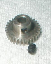 "15 Tooth  48 Pitch .093"" Stainless Steel Pinion Gear Set Screw NOS Slot Car"
