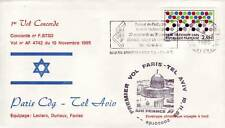 3190+ CONCORDE 1er VOL  PARIS -  TEL AVIV
