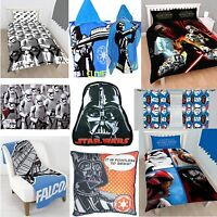 STAR WARS ACCESSORIES GIFTS - CHOOSE 1 OR GRAB A FEW - BEDDING QUILT KIDS NEW