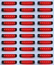 x30 24v 6SMD LED rojo intermitente lateral LUCES TRASERAS Luz Para Iveco