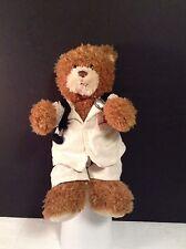 "Gund St Judes Childrens Plush Bear Doctor stetoscope VGC 10.5"" tall CUTE"