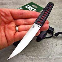 CRKT Obake EDC 8Cr14MoV Fixed Blade Japanese Style Samurai Katana Neck Knife NEW