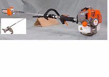 NIB KASEI 43cc Gas long pole Chainsaw Brush cutter Combo 7 feet EPA  Approved