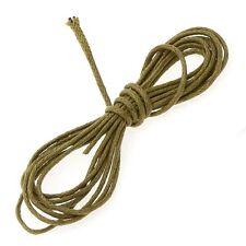 Light Brown Jewellery Beading 100% Cotton Cord 1mm - 1 Metre Length (A96/4)
