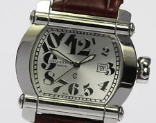 Authentic Philippe Charriol ACTOR CCHTL Leather Belt Quartz Ladies watch_339051
