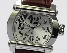 Authentic Philippe Charriol ACTOR CCHTL Leather Belt Quartz Ladies watch_339051