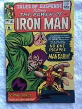 IRON MAN – TALES OF SUSPENSE no. 55  (VG 4.0)  by STAN LEE Avengers