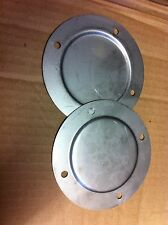 Classic Mini Vent Blanking Plates Stainless Steel