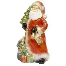 Gisela Graham Christmas Figurine 32743, Santa with a Tree.