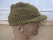 size L - BEANIE CAP US ARMY WW2 Strickmütze olive drab Mütze Jeep Driver