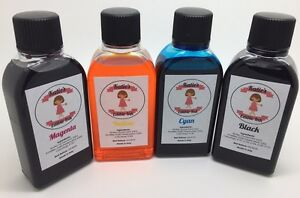 EDIBLE INK REFILL SET FOR CANON PRINTERS - 4 x 250ml