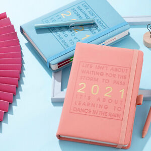2021 A5 Diary Day a Page Diaries Hardback Casebound Diary Personalised diary