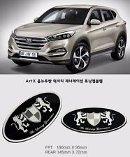 Art X Generation Front+Rear EMBLEM Badge 2EA for Hyundai Tucson 2016+