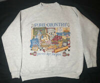 Pure Country Preserving The Past Vintage Sweatshirt Sourthern Cooking Hanes L