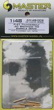 Master 1/48 P-47 Thunderbolt Calibre 0.50 Browning M2 Gun Barrel # 48002