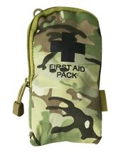 DELUXE FIRST AID KIT ARMY STYLE BTP/MTP Camo Hiking Site Camping Walking CADETS