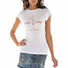 BABY PHAT...SUPER SEXY...EMBELLISHED GRAPHIC TEE...WHITE..MEDIUM..NWT..B2A00019