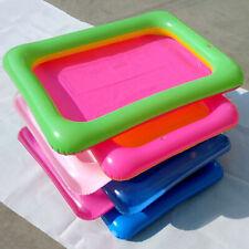 Children Inflatable Sand Tray Sandbox Play Toy Summer Beach Fun PVC Gift Eyeful