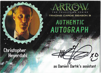Arrow Season 3 Auto Autograph Card Christopher Heyerdahl CHE