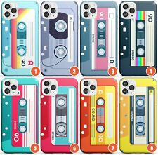 Retro Cassette Tape Design Slim Phone Case for iPhone | Mixtape Vintage Music Ol