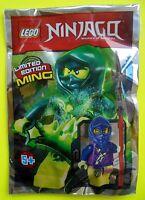 Lego Ninjago Limited Edition Ming Geist mit Waffen Ninja Neu 2015 Polybag Ovp