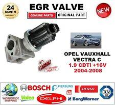 Para Opel Vauxhall Vectra C 1.9 CDTI +16V 2004-2008 Válvula EGR 2 Pin con juntas