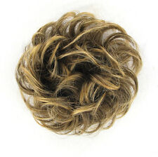 coletero peruk cabello castaño con mechas dorado ref: 17 en 6t24b
