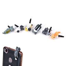 2x Anti dust plug cat earphone jack phone charm iphone ipad Japanese neko、